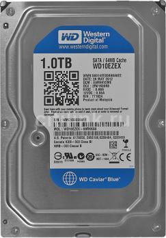 Жесткий диск WD Blue 1ТБ, HDD, SATA III, 3.5
