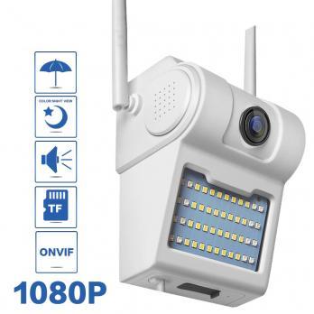 Настенная ip-камера в форме лампы wifi 1080P