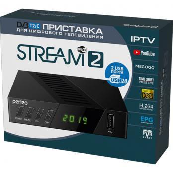 DVB-T2/C приставка «STREAM-2» для цифрового TV