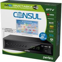 DVB-T2/C приставка «CONSUL» для цифрового TV