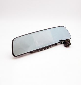 Автомобильный видеорегистратор-зеркало с 2-мя камерами и сенсорным экраном Eplutus D10
