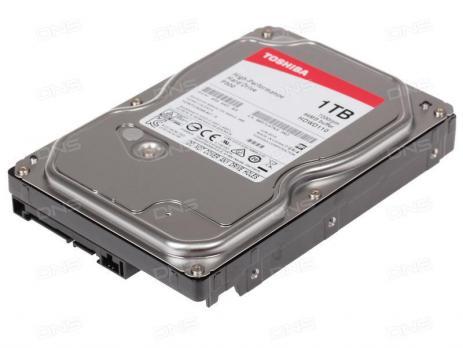 """Жесткий диск TOSHIBA P300 HDWD110UZSVA, 1ТБ, HDD, SATA III, 3.5"""""""