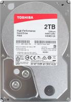 """Жесткий диск TOSHIBA P300 HDWD120UZSVA, 2ТБ, HDD, SATA III, 3.5"""""""